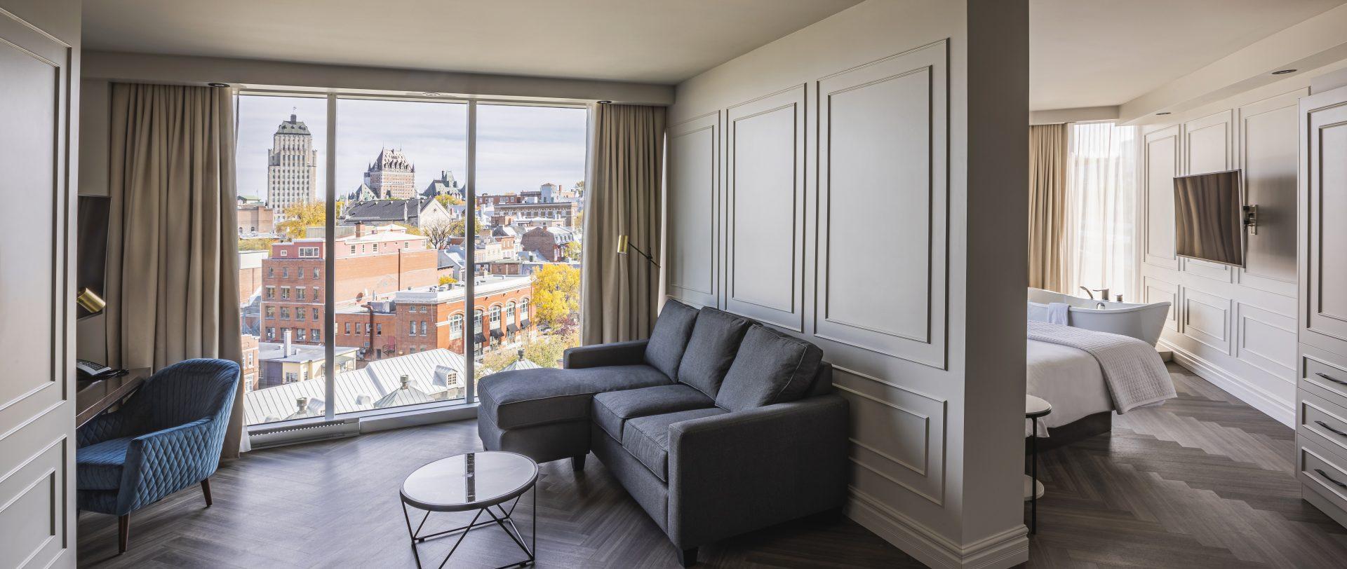 109 chambres, suites et penthouses